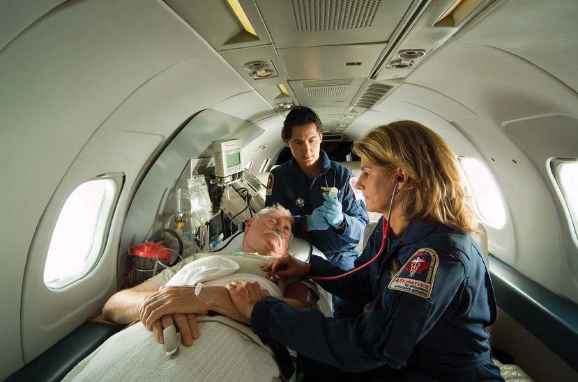 hava ambulans, ambulans jet, jet ambulans