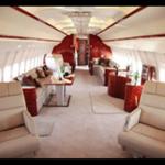 özel jet iç görsel