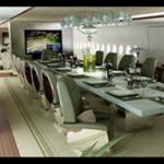 özel uçak iç resim