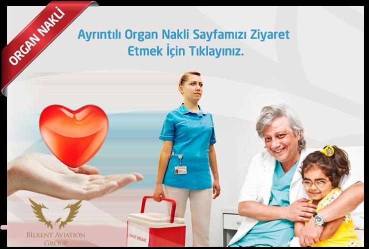 uçakla organ taşıma