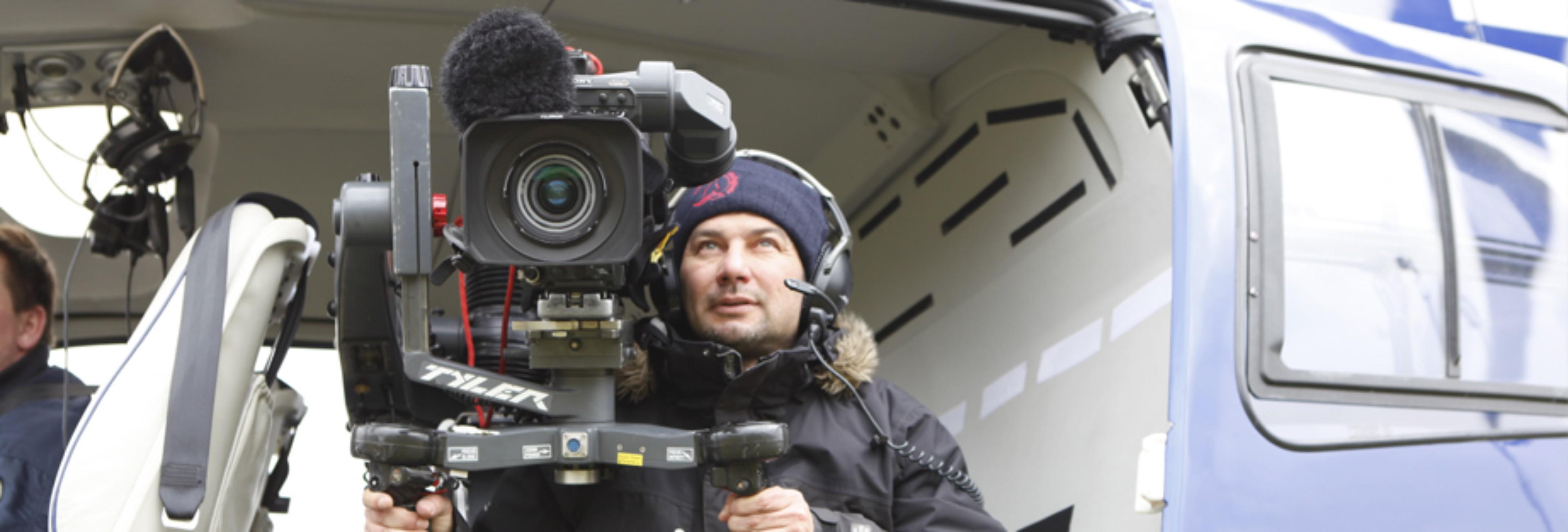 Helikopterle video çekimi
