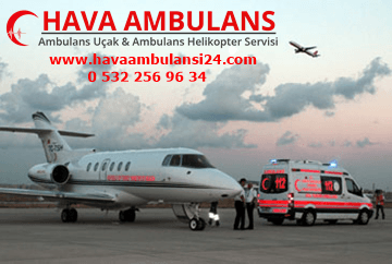 ambulans uçak kiralama